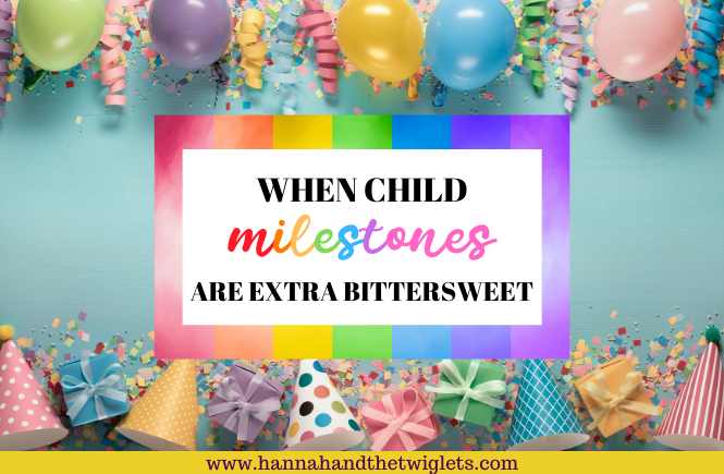 bittersweet child milestones