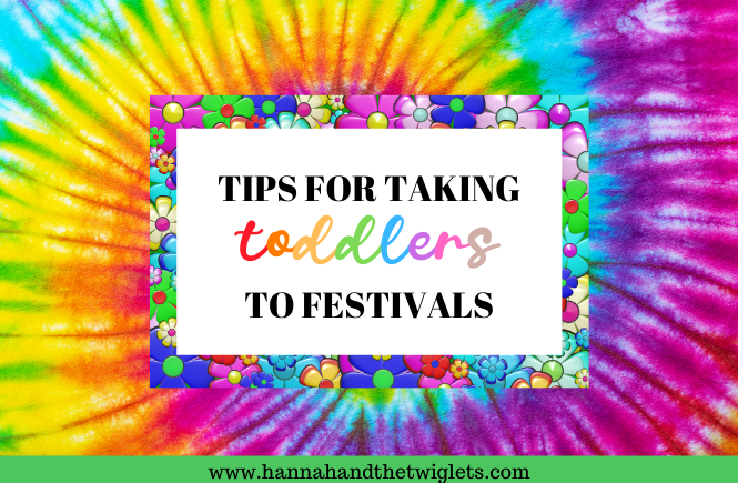 taking toddlers to festivals