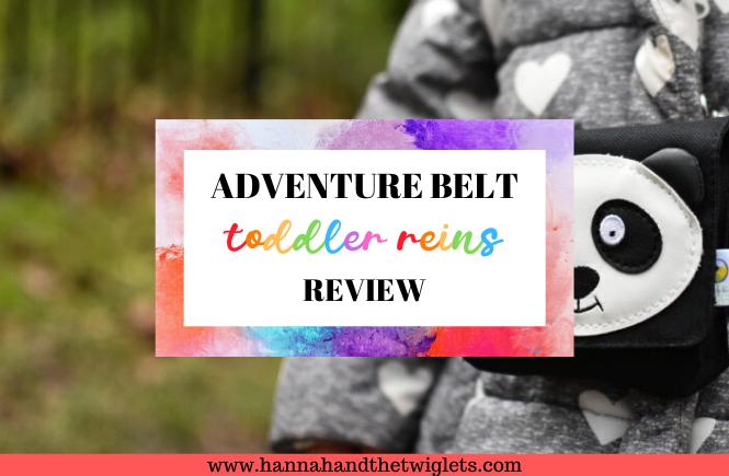 Adventure Belt toddler reins review