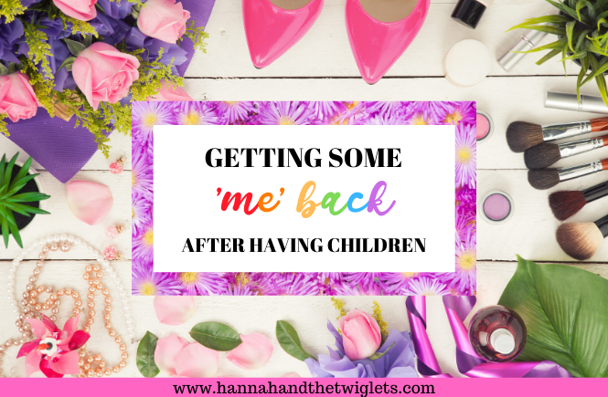 Getting some me back after having children