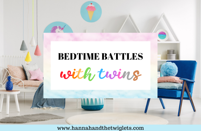 bedtime battles with twins
