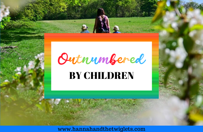 outnumbered by children