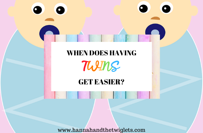 when does having twins get easier