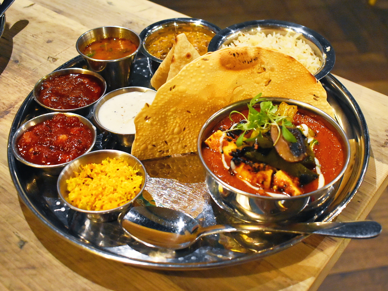 Thali from the Chilli Pickle Guildford