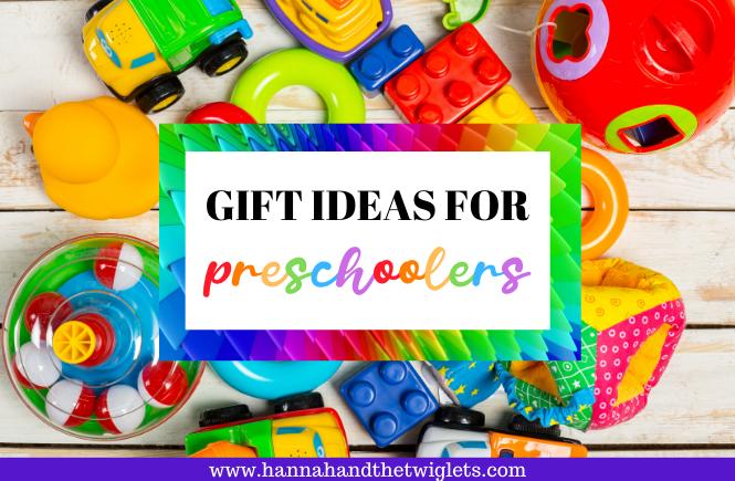 gift ideas for preschoolers