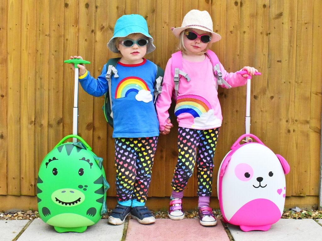 Bopster Tiny Trekker children's luggage review