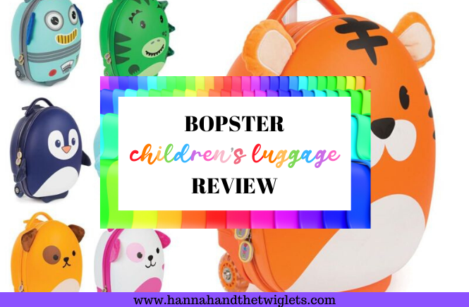 Bopster children's luggage review