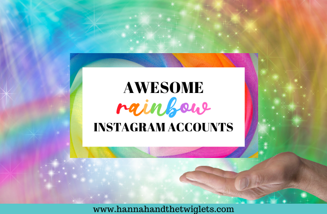 Awesome rainbow Instagram accounts