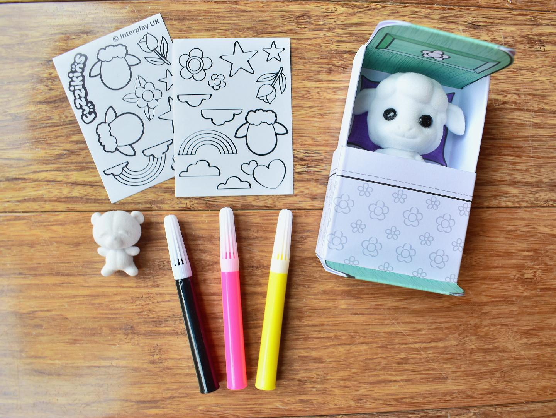 Fuzzikins Fuzzi Babies craft sets