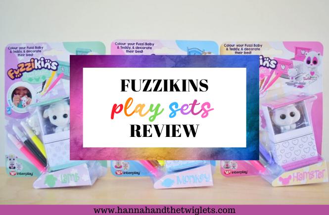 Fuzziikins play sets review
