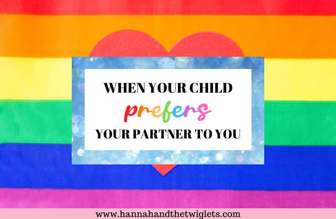 child prefers partner