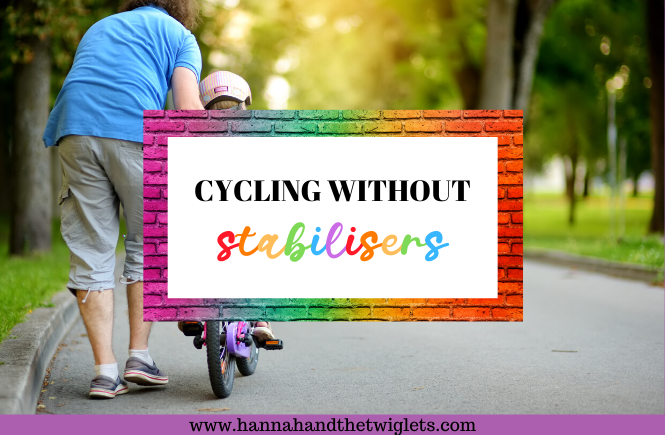 cycling without stabilisers