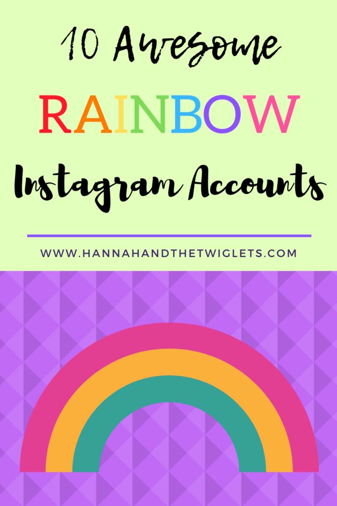 rainbow Instagram accounts
