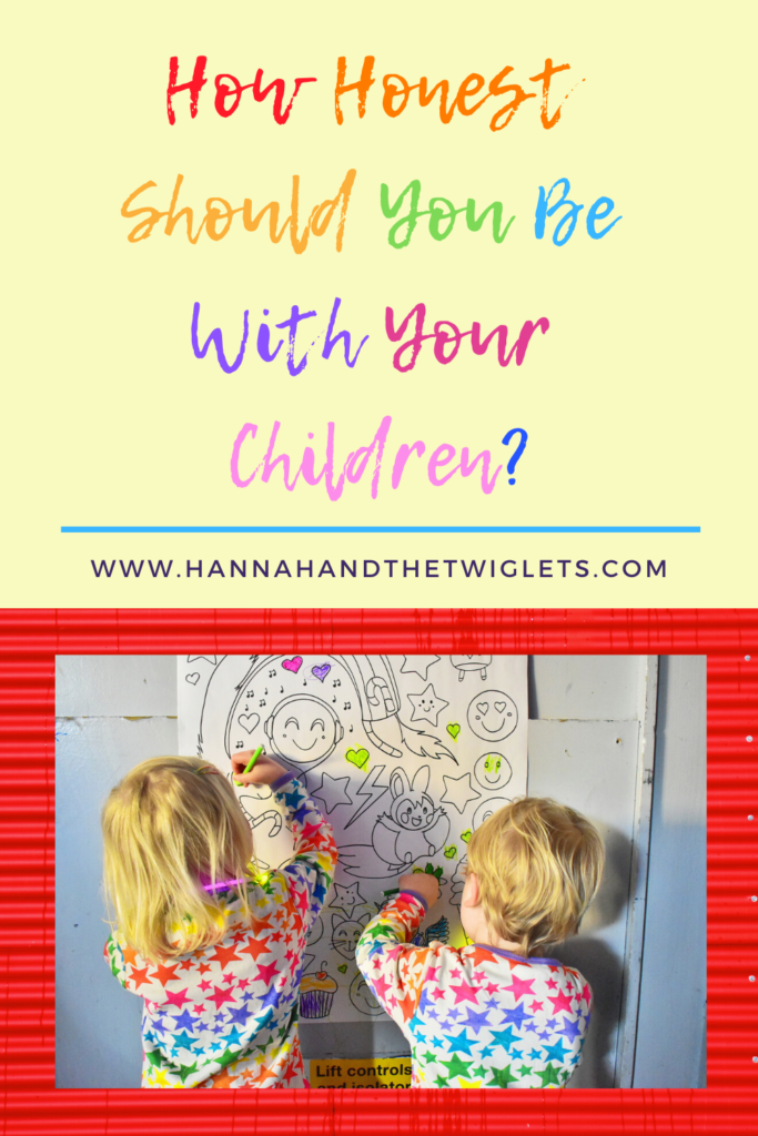 how honest should parents be with children