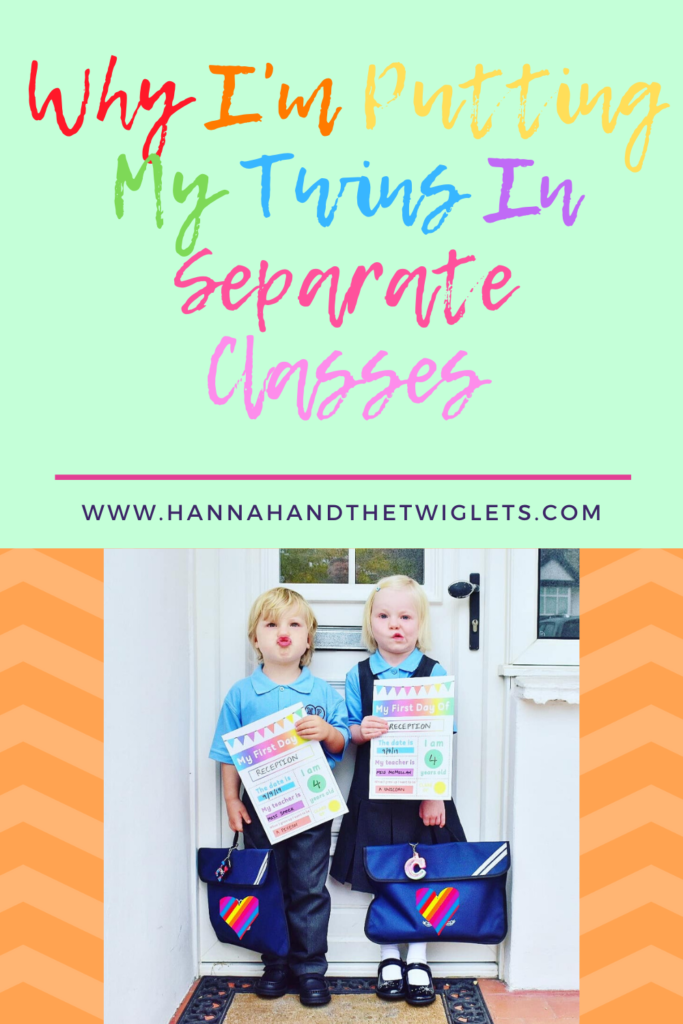 putting twins in separate classes