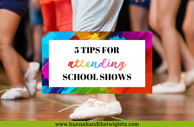 tips for attending school shows