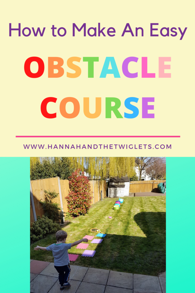 how to make an easy obstacle course