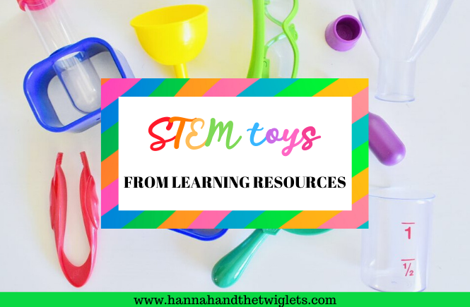 STEM toys from Learning Resources