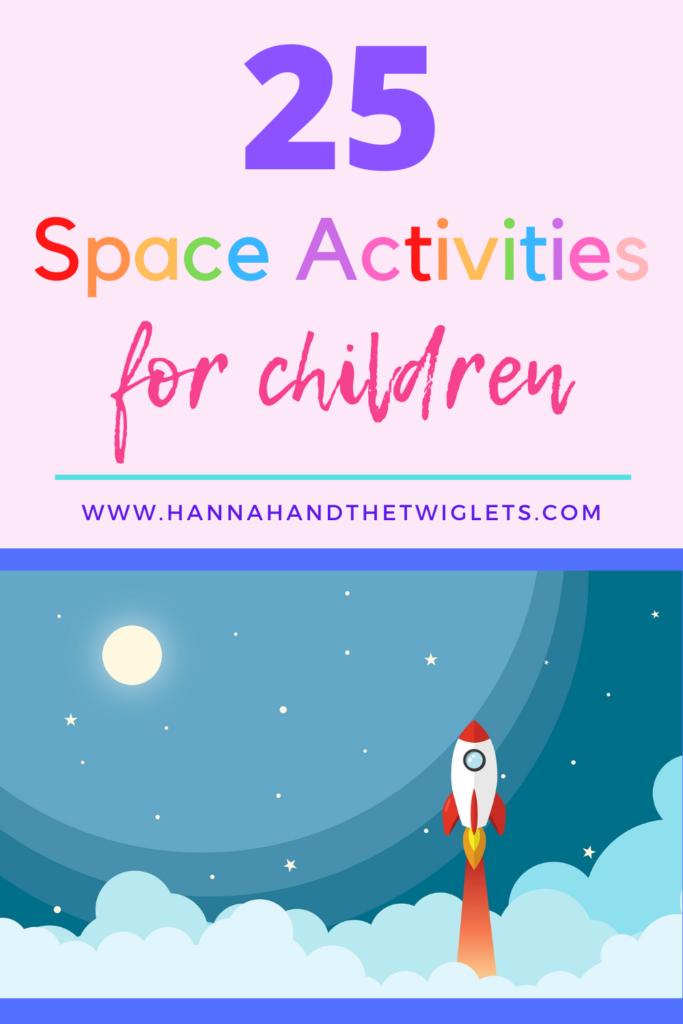 EYFS space activities