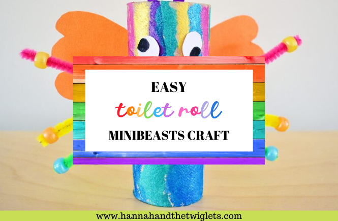 easy toilet roll minibeasts craft