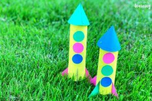 toilet roll rockets