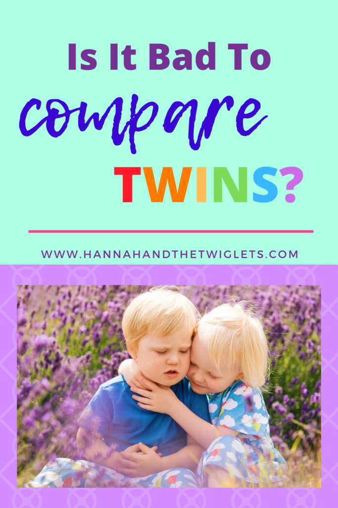 should you compare twins