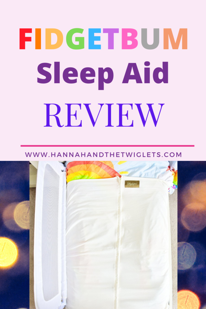 Fidgetbum sleep aid review