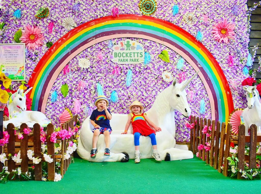 rainbow photo background