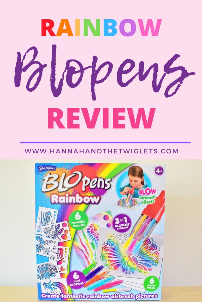 rainbow blopens review