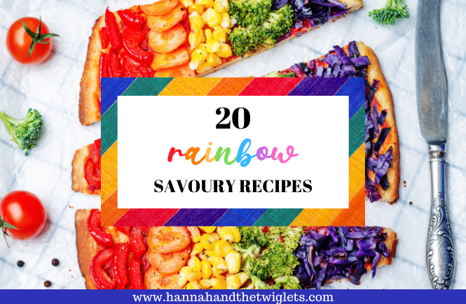 rainbow savoury recipes