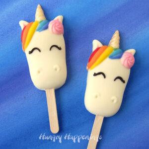unicorn sweet treats cakesicles