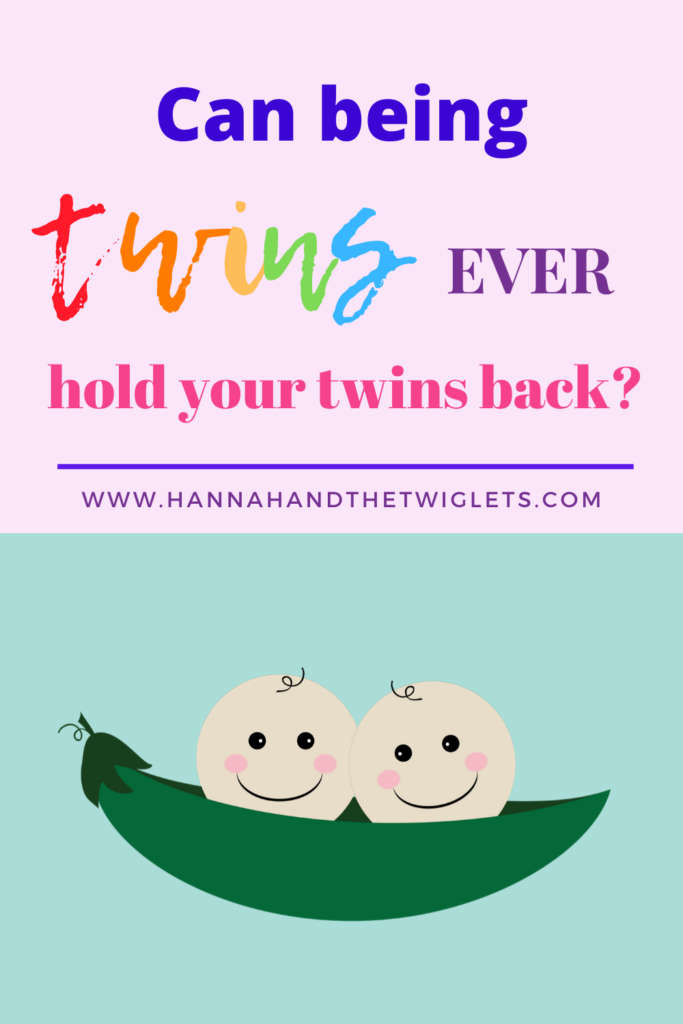 can being twins hold twins back?