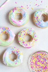 unicorn sweet treats doughnuts