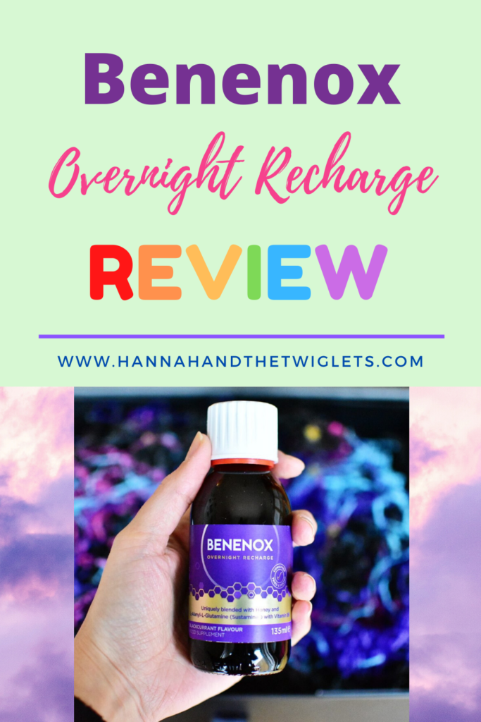 Benenox overnight recharge review