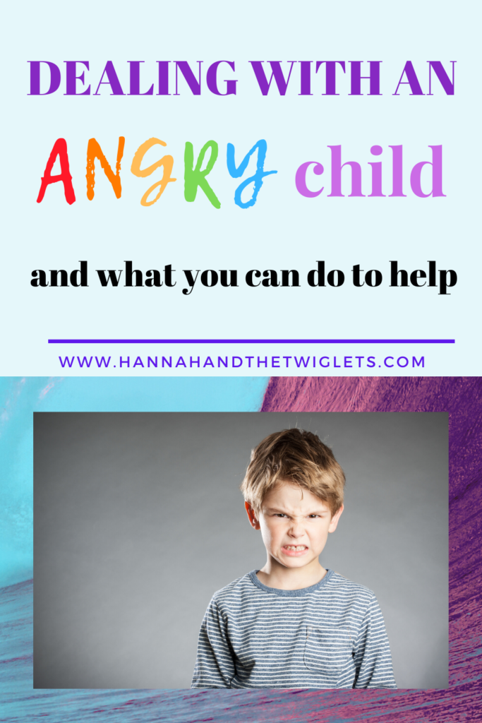 dealing with child anger