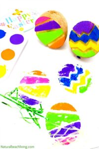 Easter egg potatoes craft