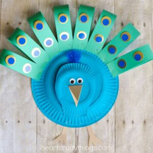 peacock craft