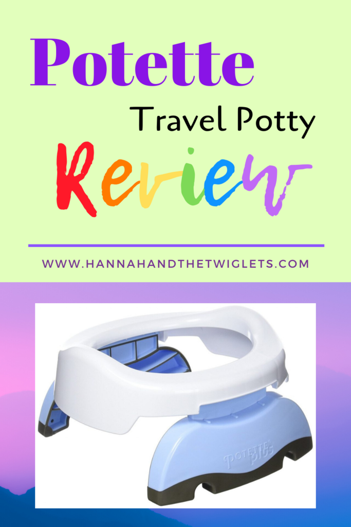 Potette travel potty review