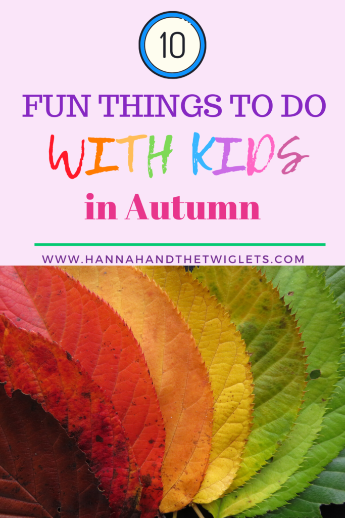 things to do with kids in Autumn