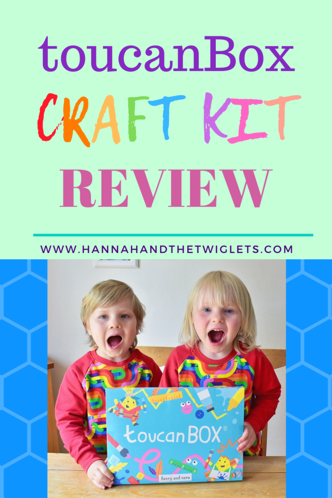 ToucanBox craft kit review