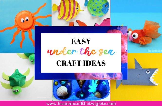 Easy under the sea crafts for kids