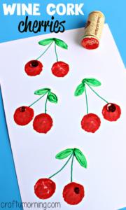 cork stamping cherries