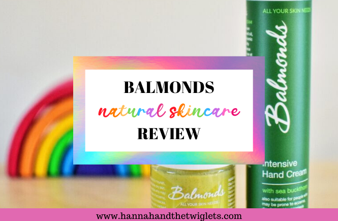 Balmonds natural skincare review