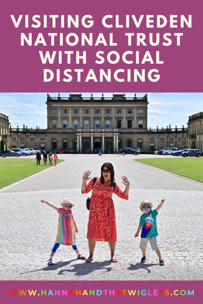 Visiting Cliveden National Trust with social distancing Pinterest
