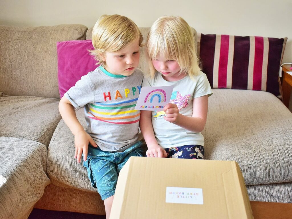 eco-friendly home baking kits from Little Star Baker