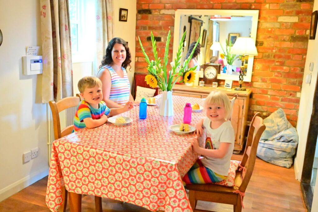 air b'n'b stowmarket Suffolk family holiday