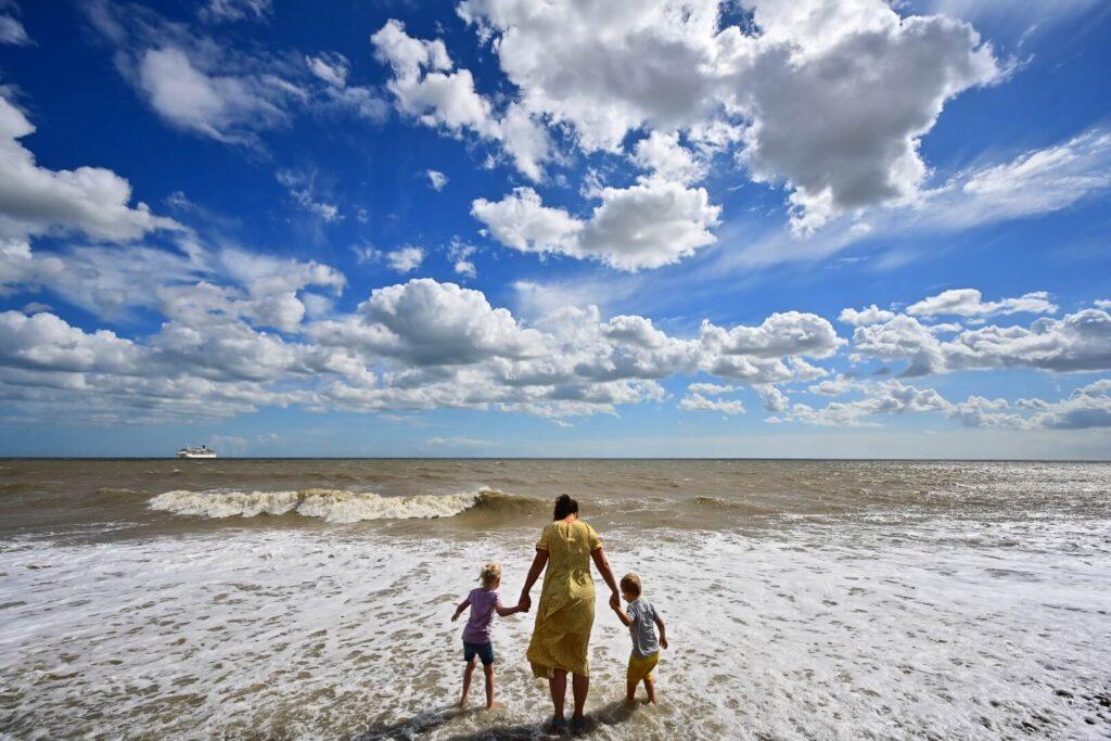 Walberswick Beach family holiday in Suffolk