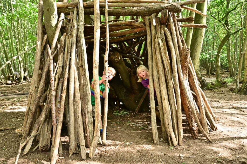 Den building at Jimmy's Farm Ipswich
