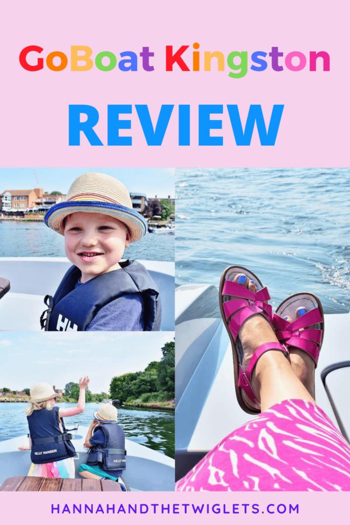GoBoat Kingston review Pinterest