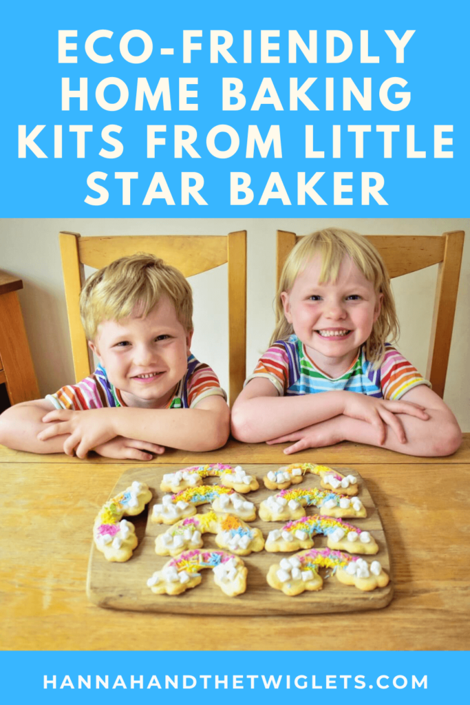 Little Star Baker eco-friendly rainbow home baking kits